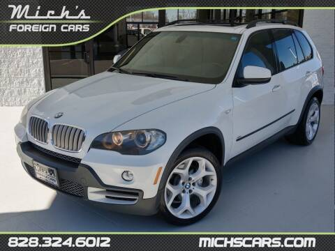 2007 BMW X5 for sale at Mich's Foreign Cars in Hickory NC