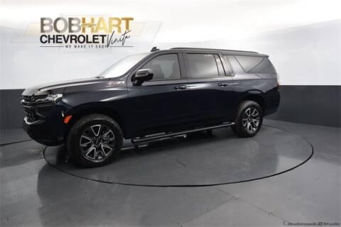 2021 Chevrolet Suburban for sale at BOB HART CHEVROLET in Vinita OK