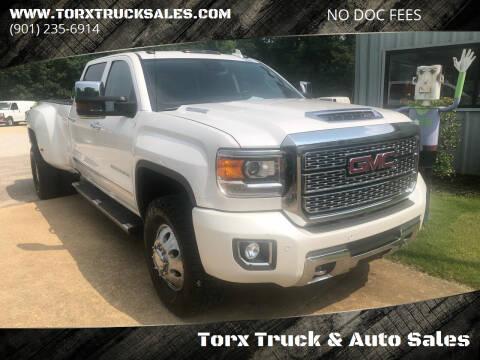 2018 GMC Sierra 3500HD for sale at Torx Truck & Auto Sales in Eads TN