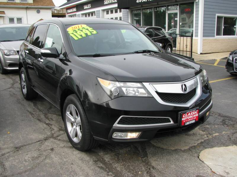2011 Acura MDX for sale at CLASSIC MOTOR CARS in West Allis WI