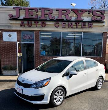 2016 Kia Rio for sale at JERRY'S AUTO CENTER in Bellmore NY