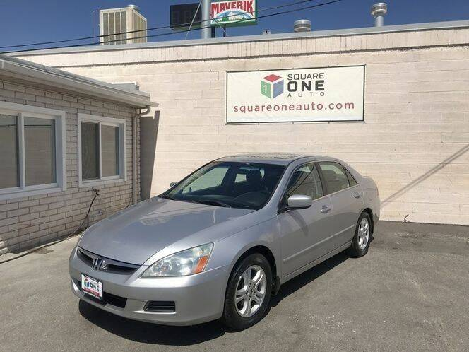 2007 Honda Accord for sale at SQUARE ONE AUTO LLC in Murray UT