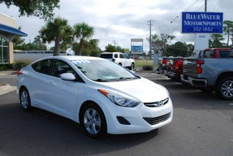 2013 Hyundai Elantra for sale at BlueWater MotorSports in Wilmington NC
