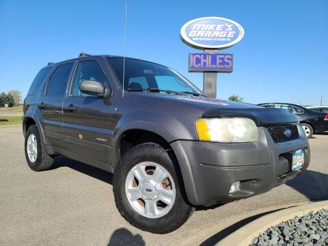 2002 Ford Escape for sale at Monkey Motors in Faribault MN
