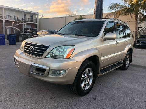 2008 Lexus GX 470 for sale at Florida Cool Cars in Fort Lauderdale FL
