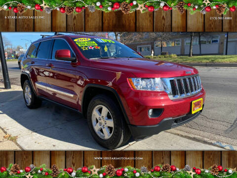 2012 Jeep Grand Cherokee for sale at 6 STARS AUTO SALES INC in Chicago IL