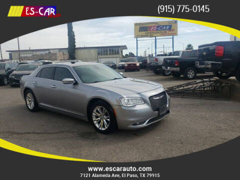 2016 Chrysler 300 for sale at Escar Auto in El Paso TX