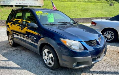 2003 Pontiac Vibe for sale at Mayer Motors of Pennsburg - Green Lane in Green Lane PA