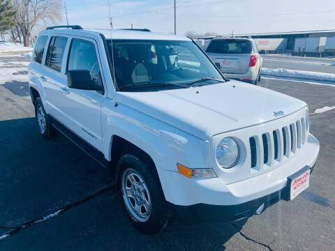 2017 Jeep Patriot for sale at Central Iowa Auto Sales in Des Moines IA