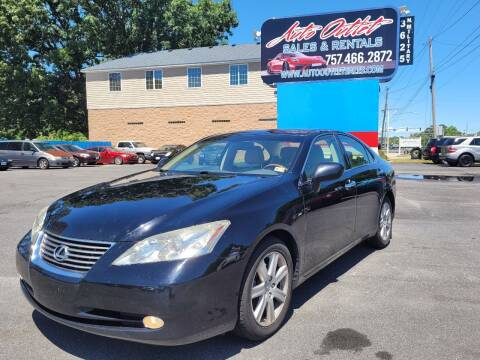 2007 Lexus ES 350 for sale at Auto Outlet Sales and Rentals in Norfolk VA
