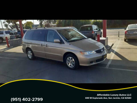 2002 Honda Odyssey for sale at Affordable Luxury Autos LLC in San Jacinto CA
