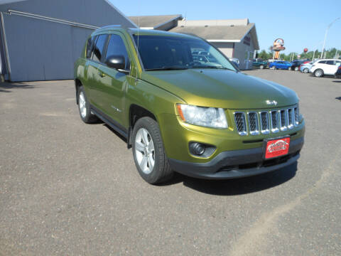 2012 Jeep Compass for sale at DANCA'S KAR KORRAL INC in Turtle Lake WI