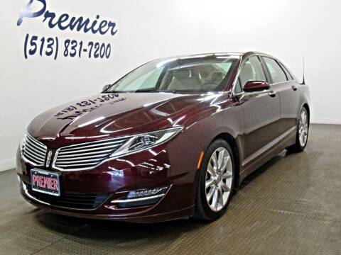 2013 Lincoln MKZ for sale at Premier Automotive Group in Milford OH