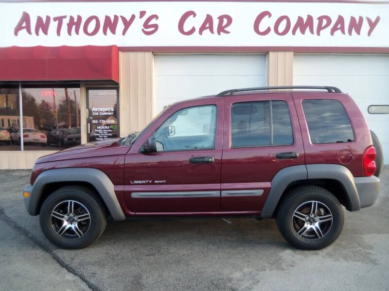 2002 Jeep Liberty for sale at Anthony's Car Company in Racine WI