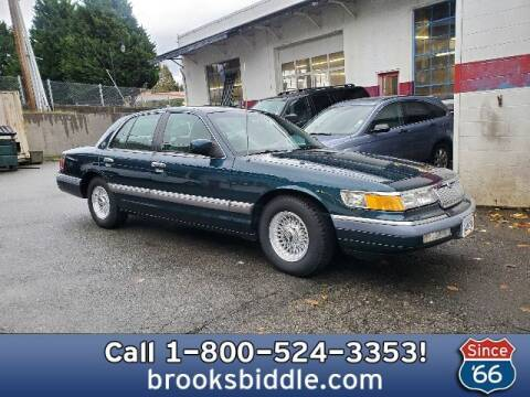 1994 Mercury Grand Marquis for sale at BROOKS BIDDLE AUTOMOTIVE in Bothell WA