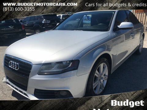 2011 Audi A4 for sale at Budget Motorcars in Tampa FL