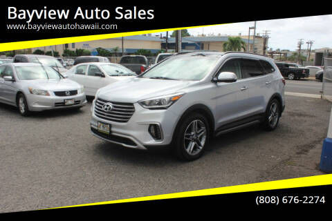 2017 Hyundai Santa Fe for sale at Bayview Auto Sales in Waipahu HI