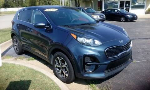 2020 Kia Sportage for sale at Jim Clark Auto World in Topeka KS