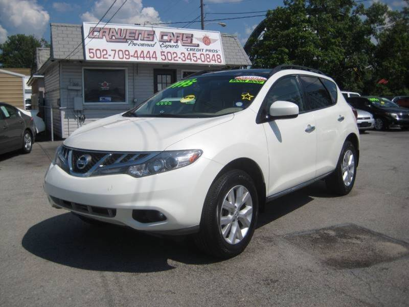 2011 Nissan Murano for sale at Craven Cars in Louisville KY