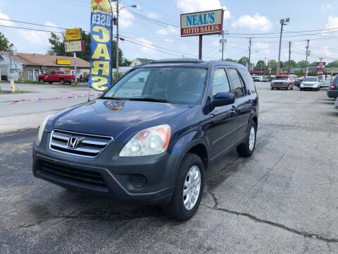 2005 Honda CR-V for sale at Neals Auto Sales in Louisville KY