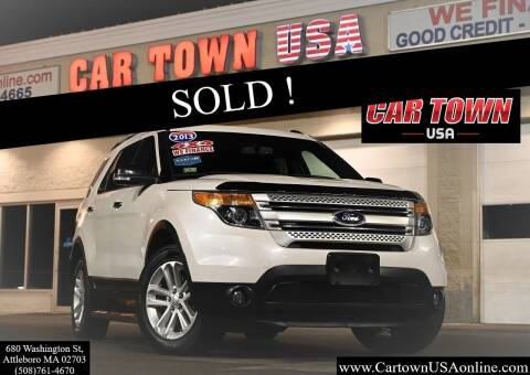 2013 Ford Explorer for sale at Car Town USA in Attleboro MA
