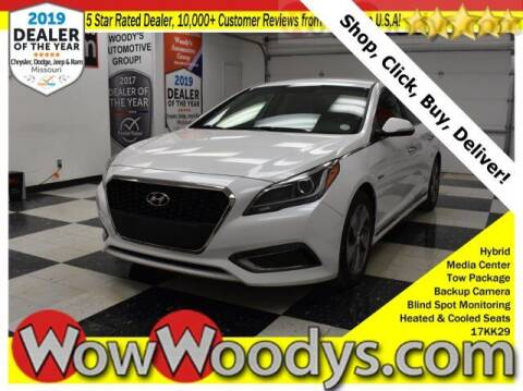2017 Hyundai Sonata Hybrid for sale at WOODY'S AUTOMOTIVE GROUP in Chillicothe MO