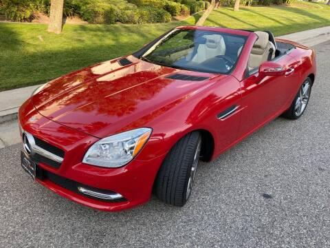 2013 Mercedes-Benz SLK for sale at Donada  Group Inc in Arleta CA
