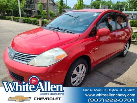 2009 Nissan Versa for sale at WHITE-ALLEN CHEVROLET in Dayton OH