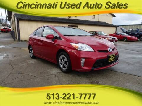 2013 Toyota Prius for sale at Cincinnati Used Auto Sales in Cincinnati OH