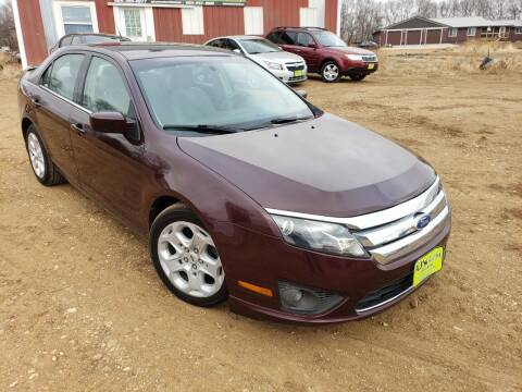2011 Ford Fusion for sale at AJ's Autos in Parker SD