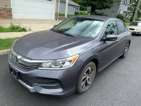 2016 Honda Accord for sale at Jordan Auto Group in Paterson NJ