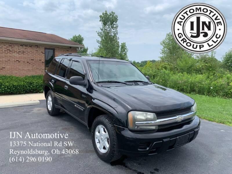 2002 Chevrolet TrailBlazer for sale at IJN Automotive Group LLC in Reynoldsburg OH