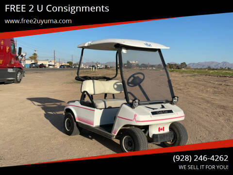 2003 E-Z-GO Golf Cart for sale at FREE 2 U Consignments in Yuma AZ
