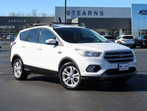 2017 Ford Escape for sale at Stearns Ford in Burlington NC