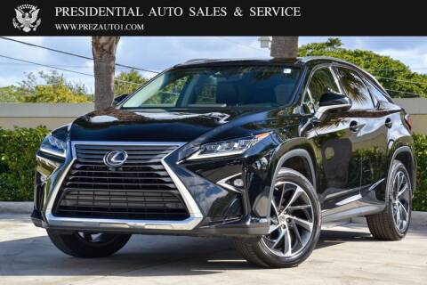 2017 Lexus RX 350 for sale at Presidential Auto  Sales & Service in Delray Beach FL