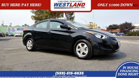 2015 Hyundai Elantra for sale at Westland Auto Sales on 7th in Fresno CA