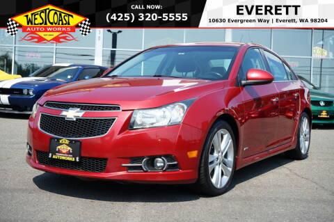 2011 Chevrolet Cruze for sale at West Coast Auto Works in Edmonds WA