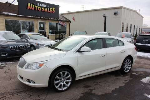 2011 Buick LaCrosse for sale at BANK AUTO SALES in Wayne MI
