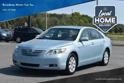 2009 Toyota Camry for sale at Broadway Motor Car Inc. in Rensselaer NY