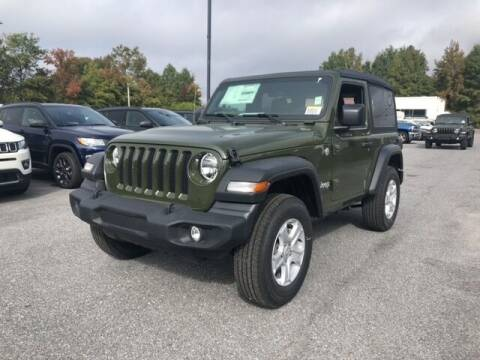 2021 Jeep Wrangler for sale at FRED FREDERICK CHRYSLER, DODGE, JEEP, RAM, EASTON in Easton MD