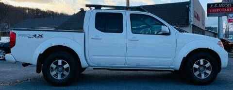 2011 Nissan Frontier for sale at K B Motors in Clearfield PA