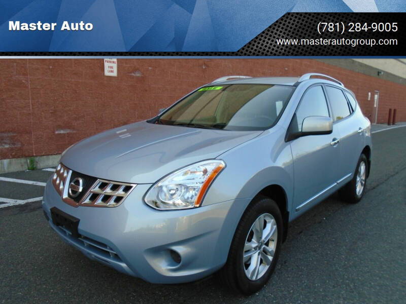 2012 Nissan Rogue for sale at Master Auto in Revere MA