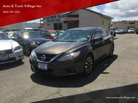 2016 Nissan Altima for sale at Auto & Truck Village Inc. in Van Nuys CA