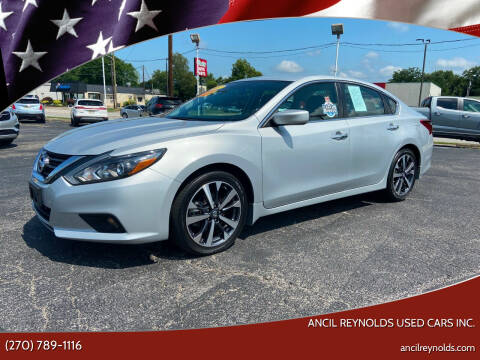 2017 Nissan Altima for sale at Ancil Reynolds Used Cars Inc. in Campbellsville KY
