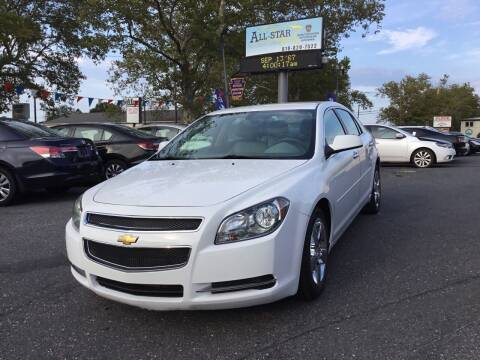2012 Chevrolet Malibu for sale at All Star Auto Sales and Service LLC in Allentown PA
