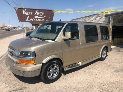 2012 Chevrolet Express Cargo for sale at Valley Auto Locators in Gering NE