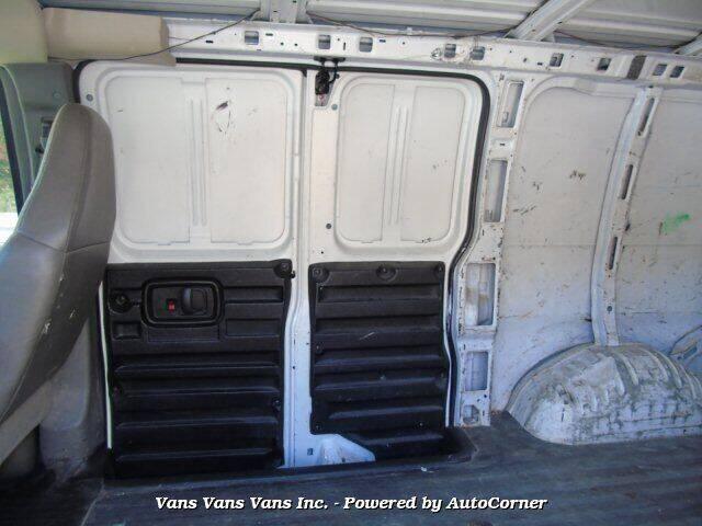 2008 Chevrolet Express Cargo 2500 3dr Cargo Van - Blauvelt NY