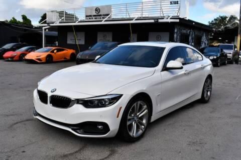 2018 BMW 4 Series for sale at AE Of Miami in Miami FL