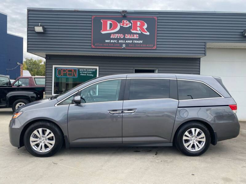 2014 Honda Odyssey for sale at D & R Auto Sales in South Sioux City NE