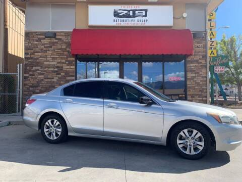 2009 Honda Accord for sale at 719 Automotive Group in Colorado Springs CO